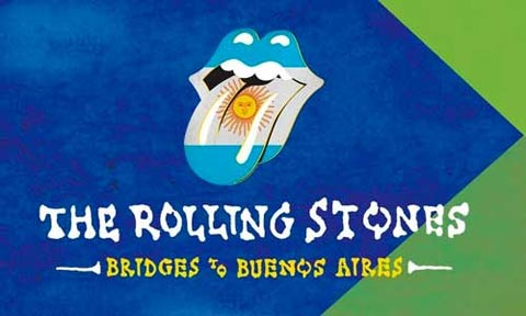 The Rolling Stones Bridges To Buenos Aires Blu-Ray
