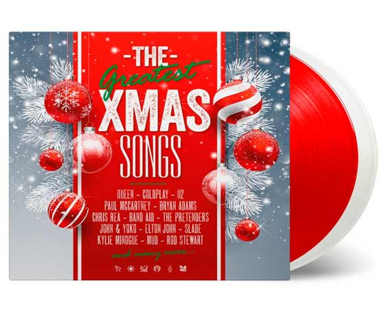Various The Greatest Xmas Songs lp