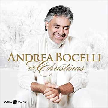 vinyl, album, zanger, Andrea, Bocelli, My, Christmas, Remastered