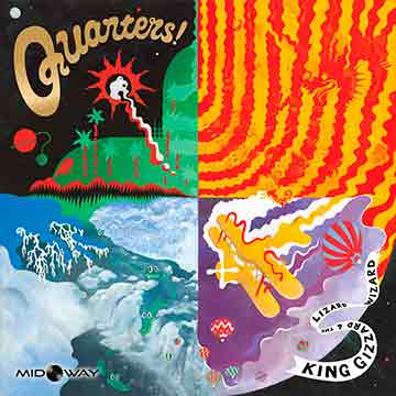 vinyl, album, band, King, Gizzard, and, The, Lizard, Wizard, Quarters, Lp