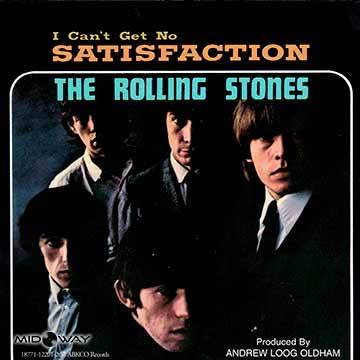 vinyl, album, Rolling, Stones, I, Can'T, Get, No, Satisfaction, Ltd, Lp