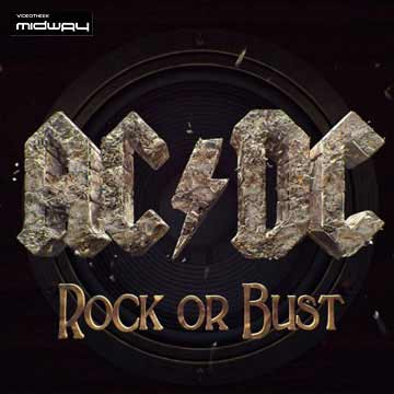AC/DC, ROCK,  OR,  BUST
