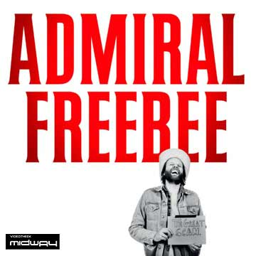 Admiral freebee | the great scam lp+cd