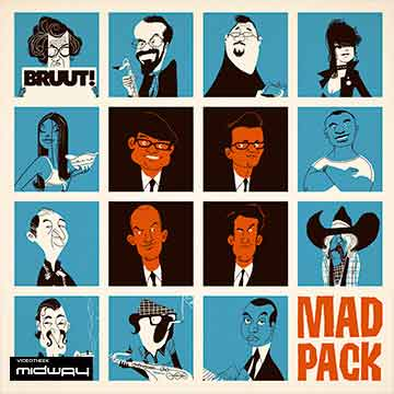 Bruut!, Mad, Pack, Lp