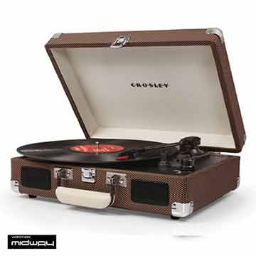 Crosley Cruiser platenspeler in de kleur Tweed