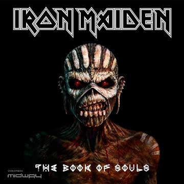 Iron, Maiden, Book, of, souls, Lp