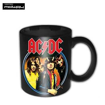 Ac/Dc, koffiebeker, Devil, Angus