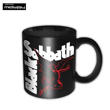 Black, Sabbath, koffiebeker, Black, Sabbath, Vol, 4