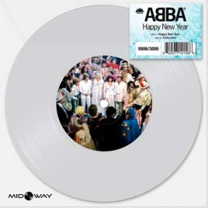 ABBA -  Happy New Year - Limited Edition - Lp Midway