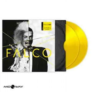 Album van Falco met de titel Falco 60 -Yellow Coloured (2 Lp)