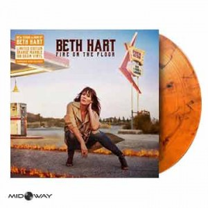 Beth Hart | Fire On The Floor (Lp) | Limited Edition Coloured Vinyl