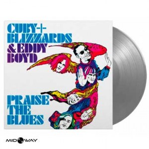 Cuby + Blizzards & Eddy Boyd ‎– Praise The Blues  - Lp Midway