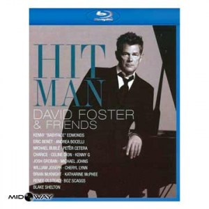 David Foster ‎– Hit Man David Foster & Friends (Blu-ray) Kopen? - Lp Midway