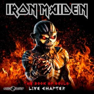 Iron Maiden The Book Of Souls: Live Chapter - Lp Midway