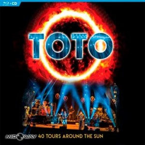 TOTO 40 Tours Around The Sun Blu-ray & CD - Lp Midway