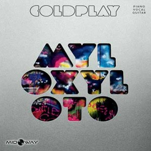 Vinyl, album, band, Coldplay, Mylo, Xyloto, LP, Poster