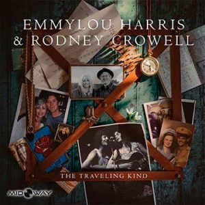 Vinyl, album, Emmylou, Harris, and, Rodney, Crowell, The, Traveling, Kind, Lp