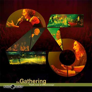 De vinyl albums van de band The Gathering met de titel Tg25: Live At Doornroosje (Lp)