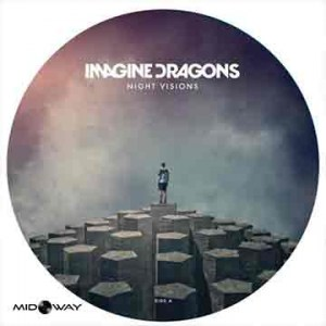 picture, disc, vinyl, album, band, Imagine, Dragons, Night, Visions, Ltd, Ed