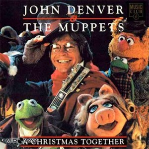 vinyl, album, zanger, John, Denver, Christmas, Together, Lp