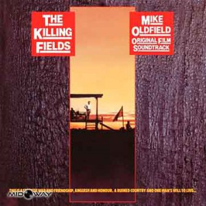 De vinyl album van de artiest Mike Oldfield met de titel The Killing Fields (Ost Lp)