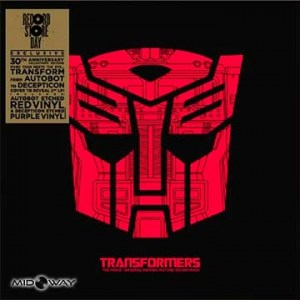 Lp Transformers: De vinyl album met de titel Transformers