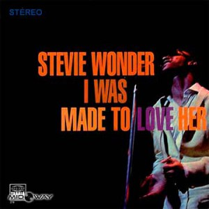 De vinyl album van de artiest Stevie Wonder I Was Made To Love Her (Lp)
