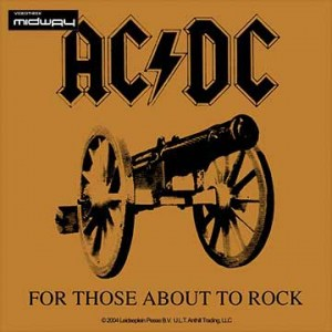 Ac/Dc, For, Those, About, To, Rock, We, Sal, Lp