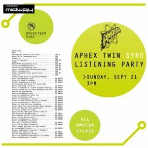 aphex, twin  syro  3lp