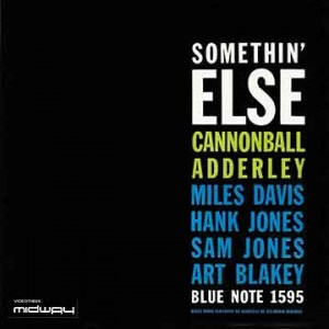 Cannonball, Adderley, Somethin', Else, Hq,  lp