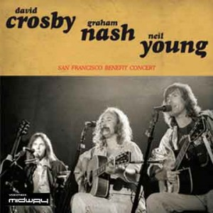 Crosby, Nash, &, Young, San, Francisco, Benefit, Concert, Lp