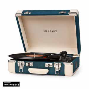 Crosley, Cruiser, Executive, Tweed, Black