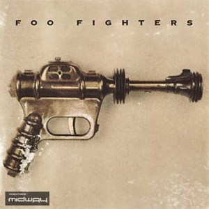 Vinyl, album, van, de, band, Foo, Fighters, Foo, Fighters, lp
