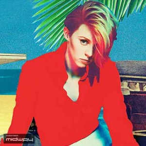 Vinyl, album, van, de, band, La, Roux, Trouble, In, Paradise, lp