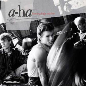 vinyl, album, band, A-Ha, Hunting, High, Low, Lp