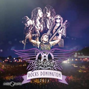 Vinyl, plaat, Aerosmith, Rocks, Donington, 2014, Lp
