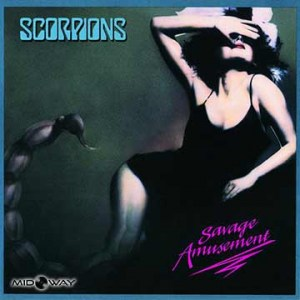 Vinyl, plaat, Scorpions, Savage, Reissue, Lp