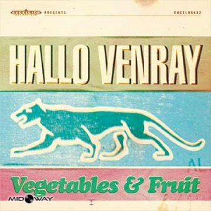 vinyl, plaat, band, Hallo, Venray, Vegetables, en, Fruit, Lp