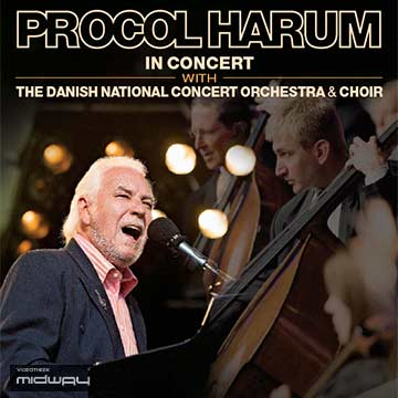 Vinyl, album, Procol, Harum, In, Concert, With, Live, Lp