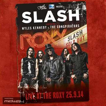 vinyl, album, band, Slash, Live, At, The, Roxy, 25.09.14, Lp