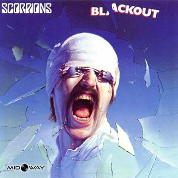 Vinyl, plaat, Scorpions, Blackout, Reissue, Lp