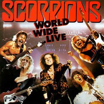 Vinyl, plaat, Scorpions, World, Wide, Live, Reissue, Lp